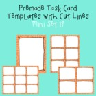 Task Card Template - Mini Set 19 - frames - borders