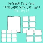 Task Card Template - Mini Set 22 - frames - borders