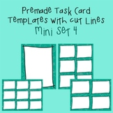Task Card Template - Mini Set 4 - frames - borders