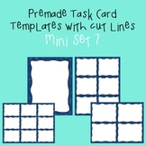 Task Card Template - Mini Set 7 - frames - borders