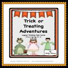 Task Cards: Halloween ~ Trick or Treat Adventures