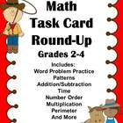 Task Cards:  Math Task Card Round Up