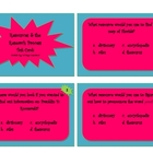 Task Cards: Resources/References and the Research Process