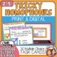 Task Cards for 6 Commonly Confused Homophones, CCS L.5 and L.4.1