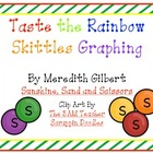 Taste the Rainbow Skittles Sort, Graph and Add