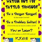 Tattle tounge poster