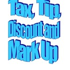 Tax, Tip, Discount and Mark Up Note Packet