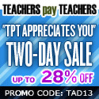 Teacher Appreciation Two-Day Sale Banners