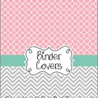 Teacher Binder Covers - Pretty Pink & Tiffany's Blue Theme