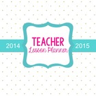 Teacher Binder (Planner & Organizer BUNDLE -GOLD) Editable w/CCSS