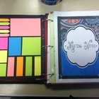 Teacher Binder Set with Editable Cover Page for Back to Sc
