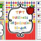 Teacher Binder - TPT Business Organization Binder (Teacher