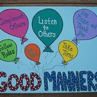 Teacher Classroom Good Manners Painting