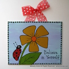 Teacher Classroom Motivational Believe Sign
