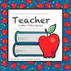 Teacher Coffee Table Quotes (Paperback) Apples in Blue