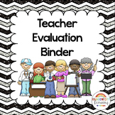Teacher Evaluation Binder