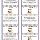 Teacher Gift Labels