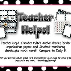 Teacher Helps for Literacy Groups - PINK Polka Dot