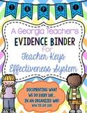 Teacher Keys Effectiveness System (TKES) TAPS Teacher Evid