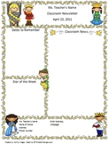 Teacher Newsletter Template - Fairy Tale Themed