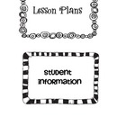 Teacher Notebook Organization Labels
