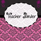 Teacher Organization Binder Set