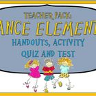 Teacher Pack: The Elements of Dance