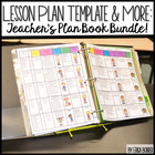 Teacher Plan Book and So Much More!