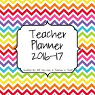 Teacher Planner 2014-15: Rainbow Style