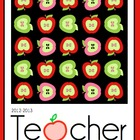 Teacher Planner - Apple Theme