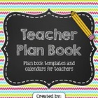 Teacher Planner Binder ~ Editable!