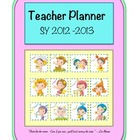 Teacher Planner - Horoscope Children Theme