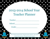 Teacher or Student Lesson & Date Planner - Monthly & Weekl
