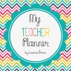 Teacher Planner {Printable AND Editable!}