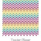 Teacher Planner - Rainbow