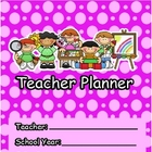 Teacher Planner: Weekly &amp; Monthly Calendar Planner and more!
