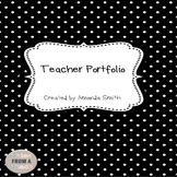 Teacher Portfolio Binder Kit: Inserts to Create the Ultima