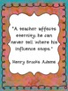 Teacher Quote Posters FREEBIE