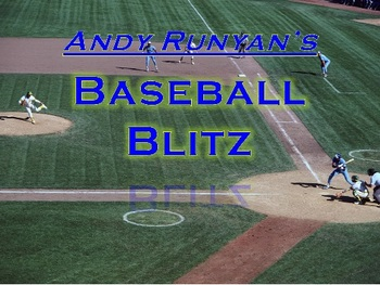 Teacher Review Game - Baseball Blitz