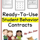 Teacher-Student Contracts (Great for Behavior Management!)
