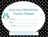 Teacher & Student Planner-Monthly, Weekly-Daily-Motivation