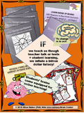 Teacher Talk and Test Fallacy - FREE Poster