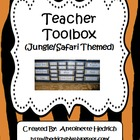 Teacher Toolbox (Jungle Themed)