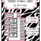 Teacher Toolbox Zebra