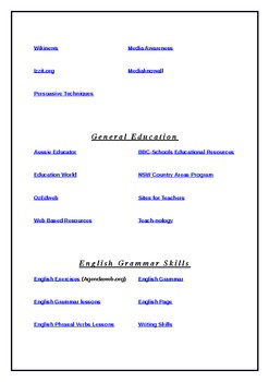 Teacher Tools and Resources Portal