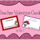 Teacher Valentines with Cute Treat Sayings