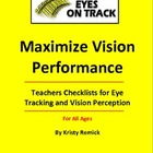 Teacher&#039;s Checklists for Eye Tracking and Vision Perception