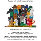 Teacher&#039;s Creatures Phonics Puppets A-Z (Teacher Set with 