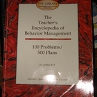 Teacher&#039;s Encyclopedia of Behavior Management