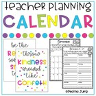 Teacher's Planning Calendar updated for 2013-2014 school year